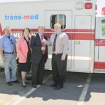 TransMed Donates Ambulance
