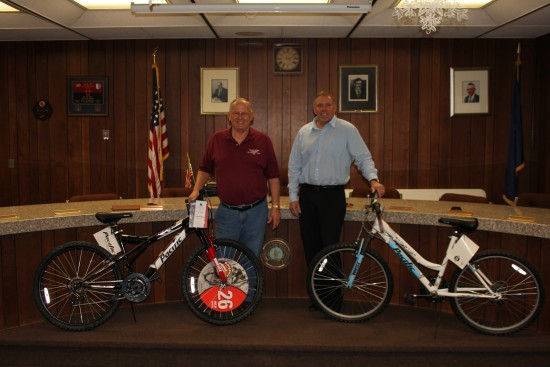 Trans-Med Donates Bike to Wilkes Barre Twp Fishing Dirby